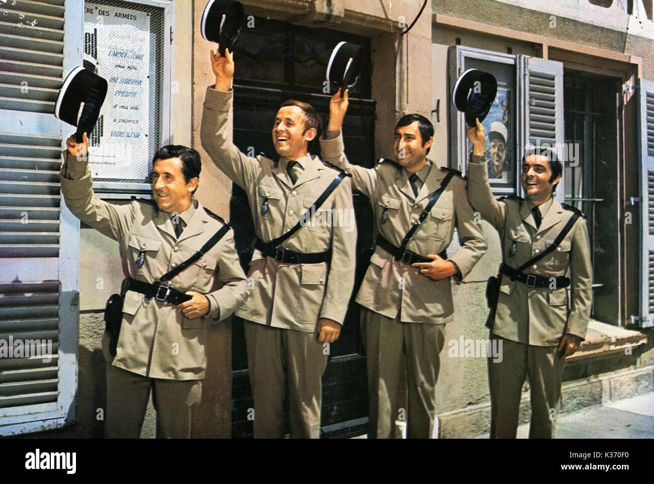 Le gendarme se marie Jean Lefebvre non identifiés d'autres Banque D'Images