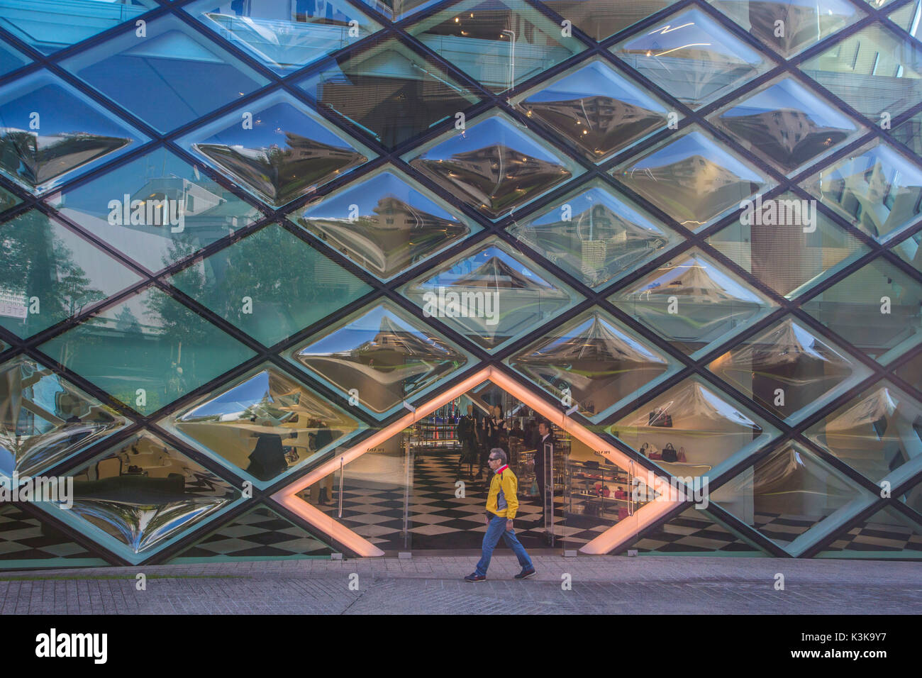 Le Japon, la ville de Tokyo, architecture Zone Omotesando Photo Stock
