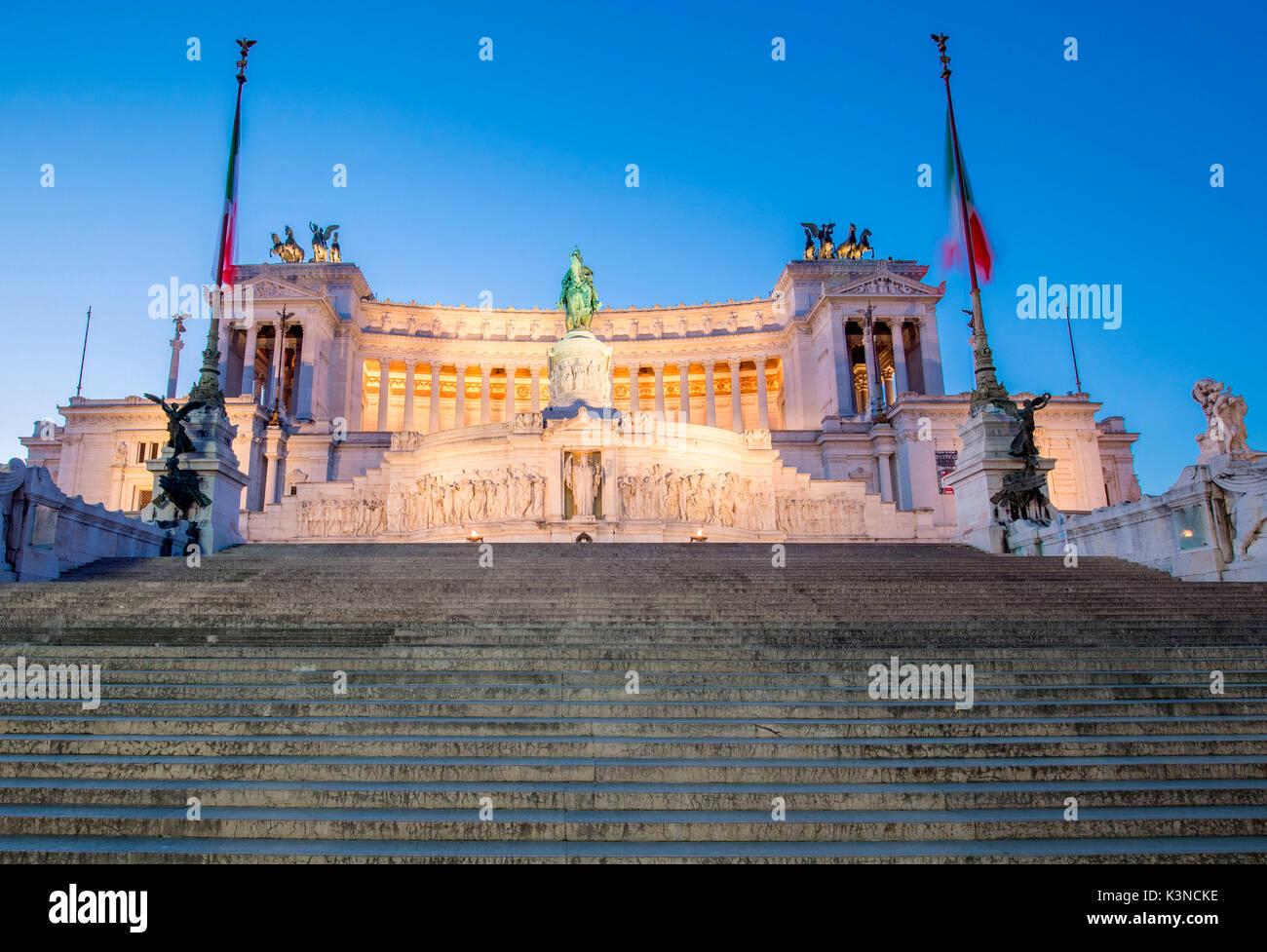L'Europe, Italie, Latium, Rome. Vittoriano Photo Stock