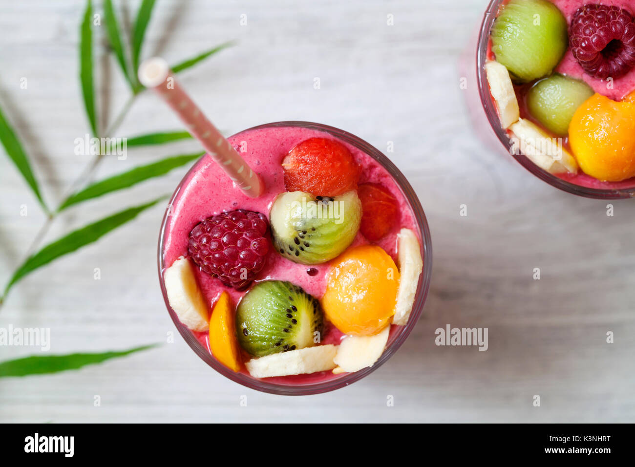 Smoothie Tropical Banque D'Images