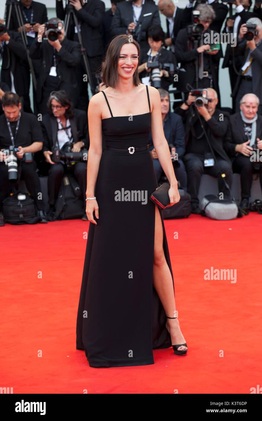 Venise, Italie. 2Nd Sep 2017. Rebecca Hall à la première du film Suburbicon à la 74e Festival du Film de Venise, Banque D'Images