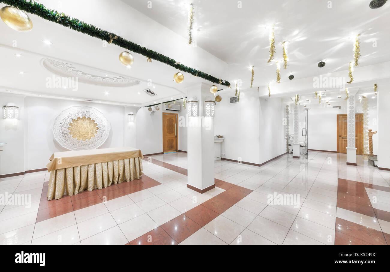 L\'intérieur de la chambre de luxe restaurant de cuisine ouzbek babay ...
