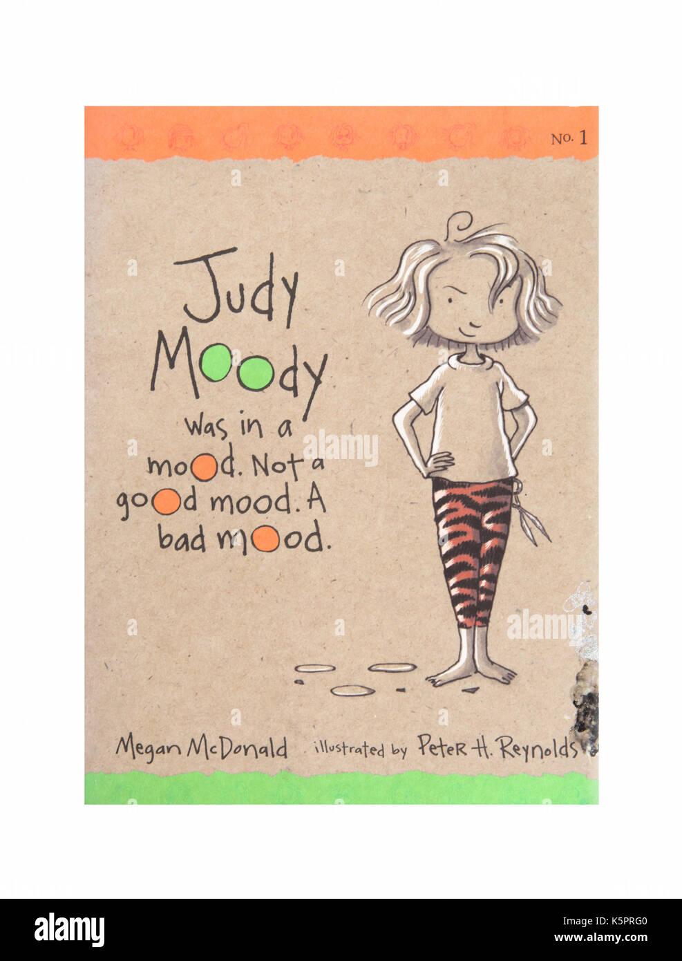 Le livre Judy Moody était dans une humeur, pas une bonne humeur. Une mauvaise humeur de Megan McDonald Photo Stock