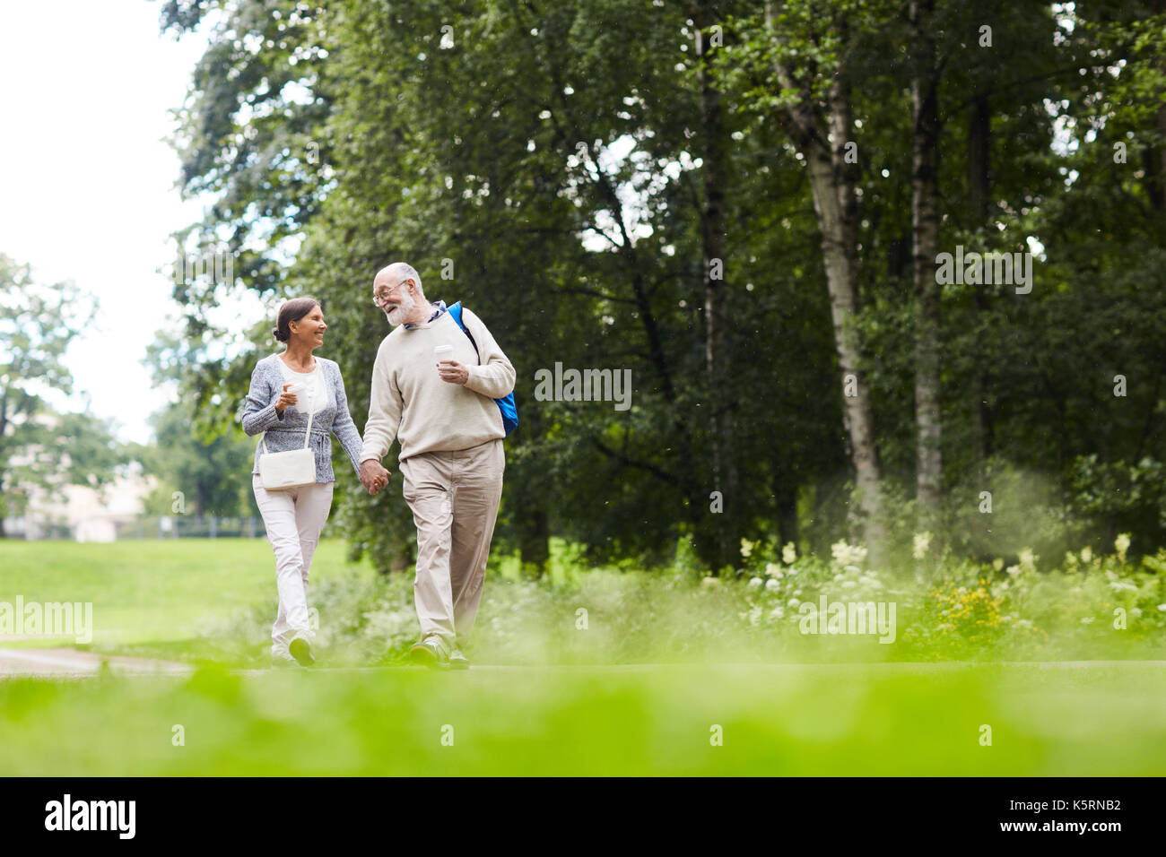 Couple d'aventuriers Photo Stock