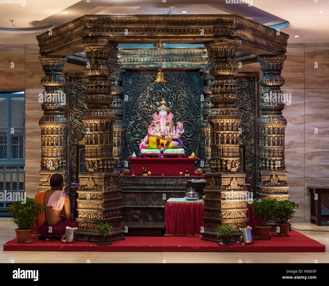 Le brahmane Sabha, Ganesh Festival 2017, Mumbai, Inde Photo Stock