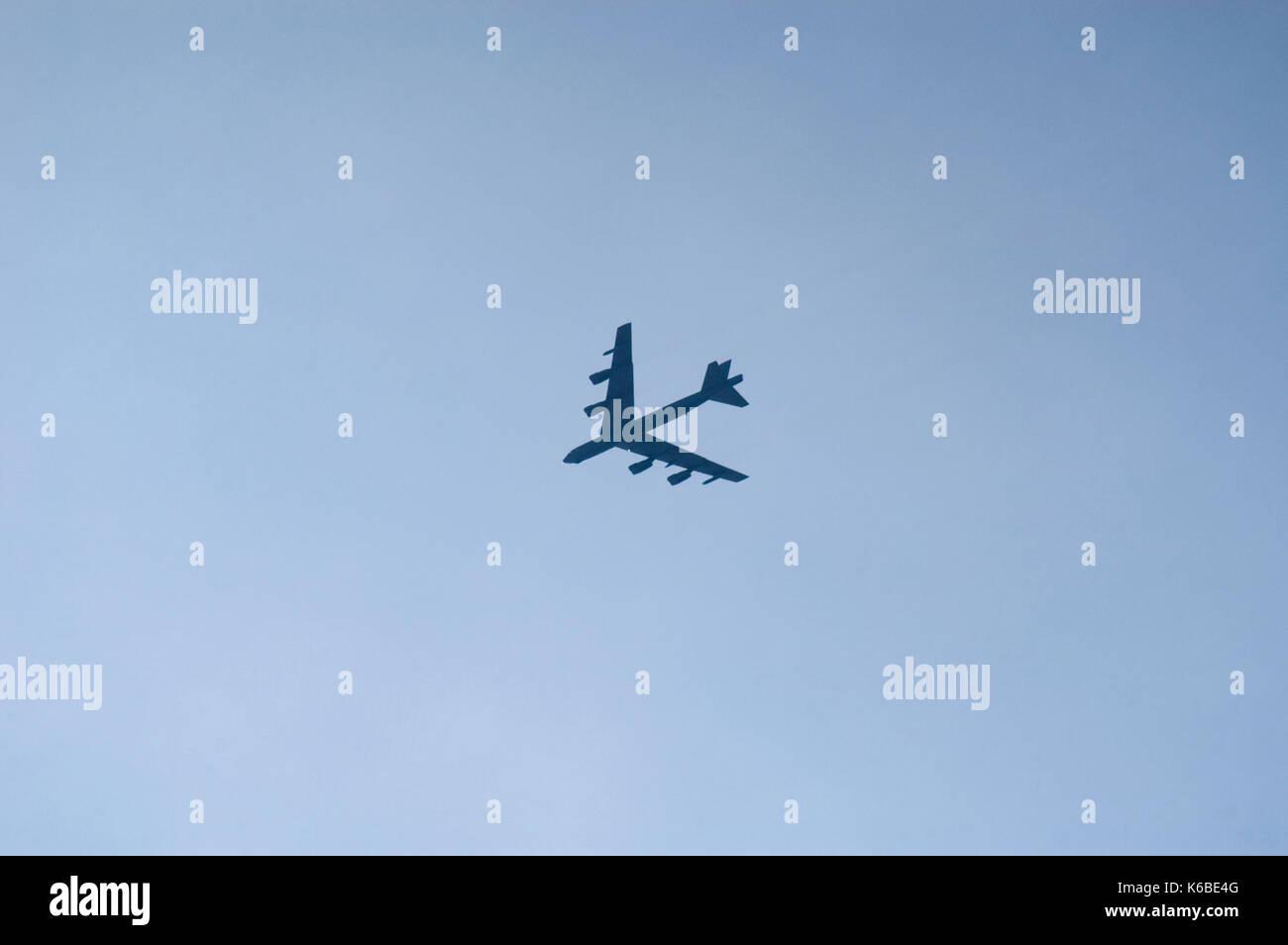 B52 bomber Banque D'Images