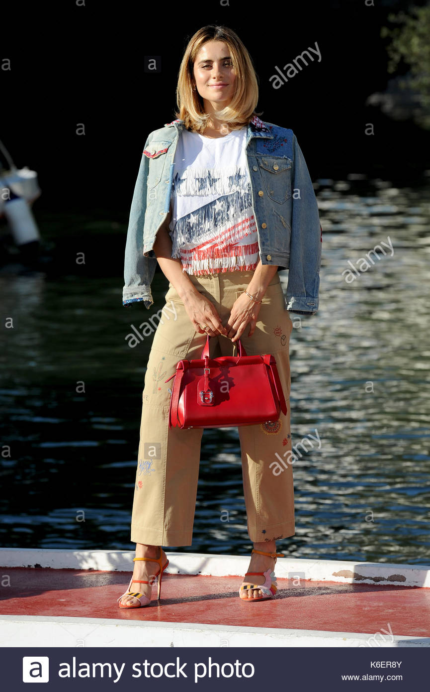 Greta scarano venezia 05-09-2017 Banque D'Images