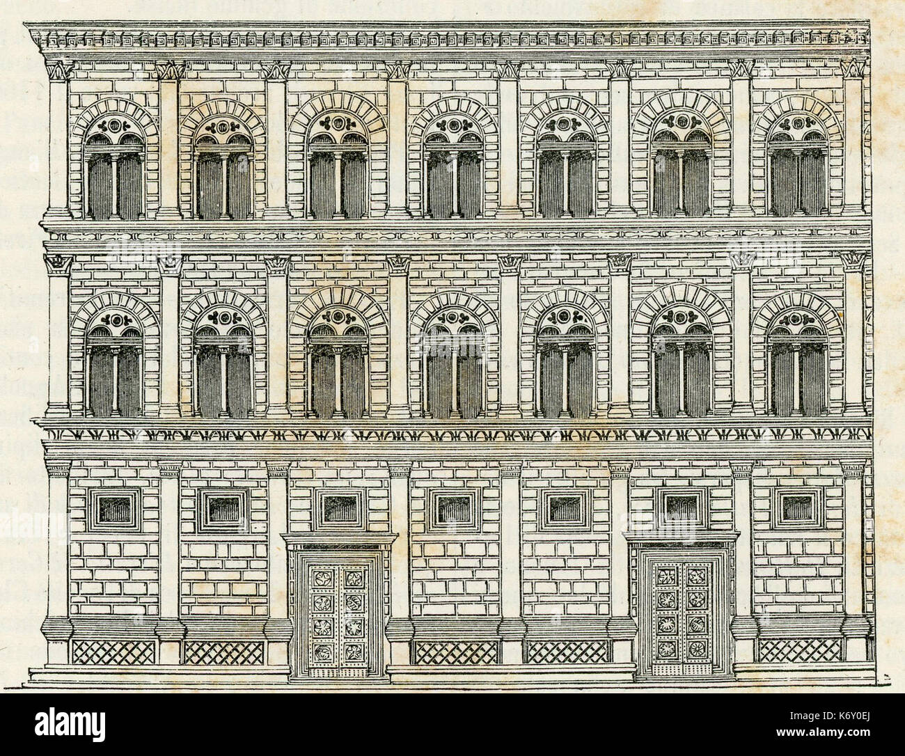 Palais rucellai de florence banque d 39 images photo stock 159174362 alamy - Palais des offices florence ...
