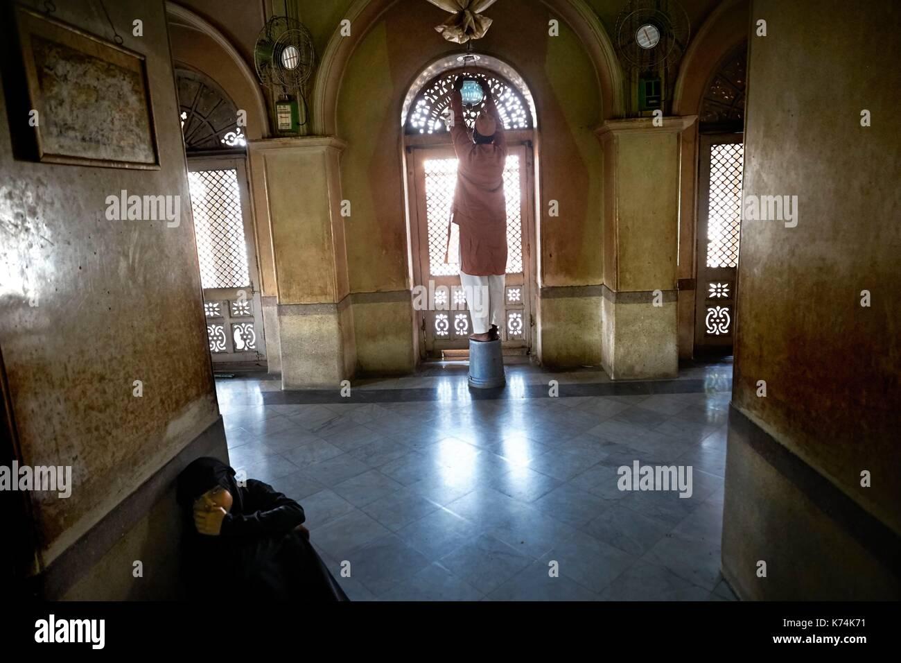 L Inde Telangana Hyderabad Dargah Sayyed Kamoshi Shah Un Homme D