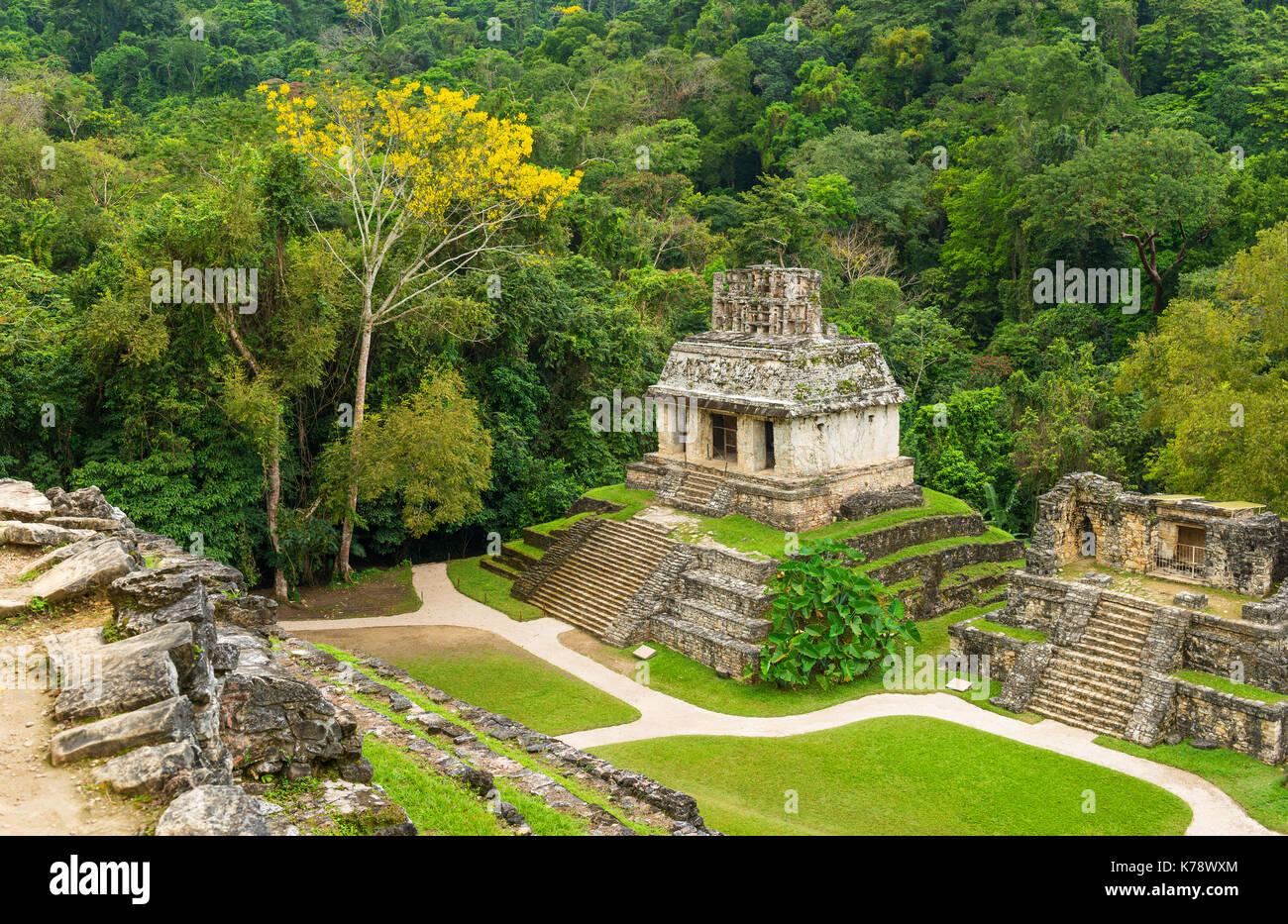 L 39 int rieur du paysage ville maya de palenque ville sa for Architecture des jardins et du paysage