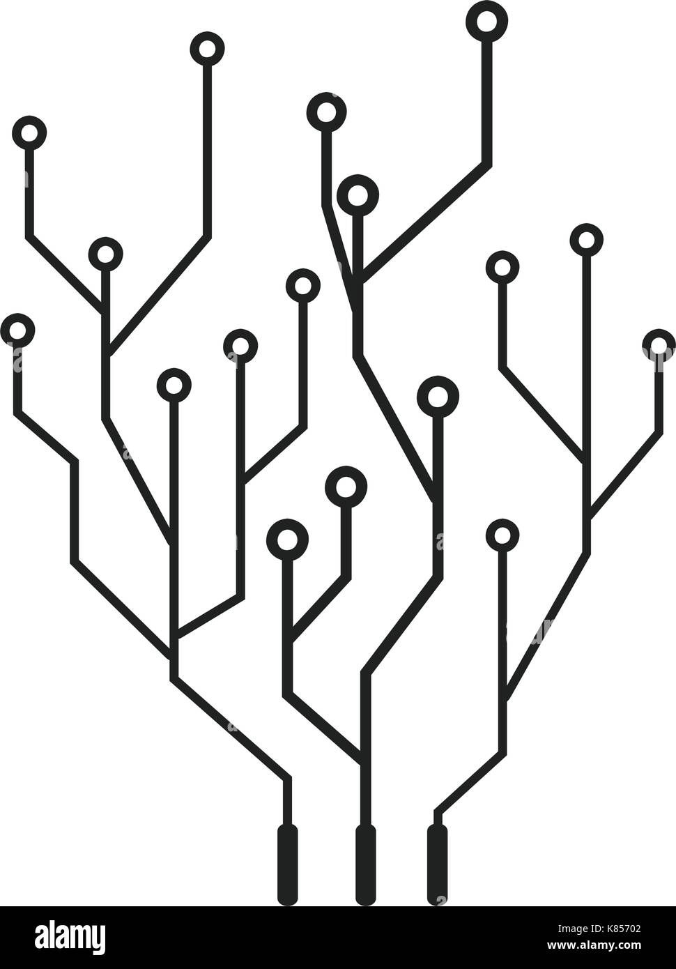 Awesome Circuit Imprimé Vector Picture Collection - Electrical ...