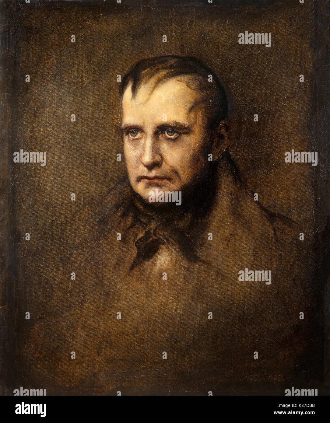 L'Athenaeum - St Helena, la dernière phase (James Sant) Portrait de Napoléon - dernier portrait de Napoléon Bonaparte Photo Stock