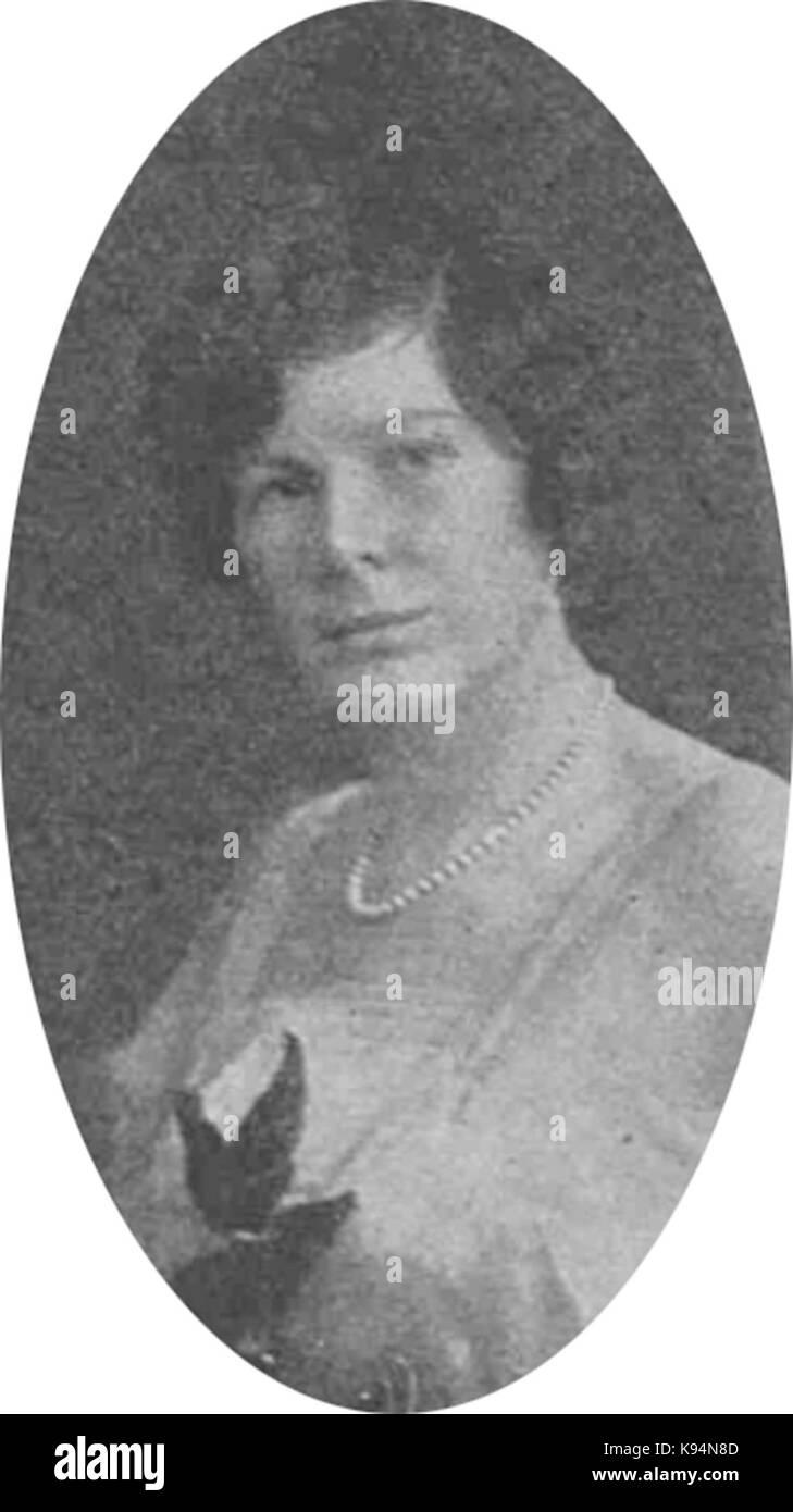 Kathleen Curzon Herrick Banque D'Images