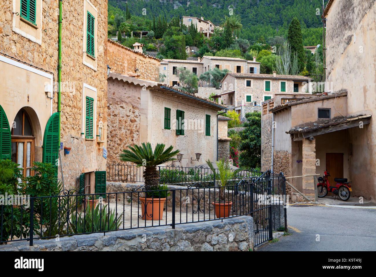Village de deia Majorque, Espagne Photo Stock