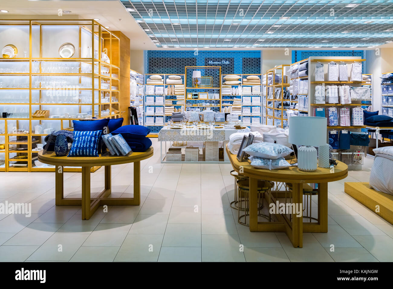 2017 intrieur de zara home store dans le centre commercial zelenopark