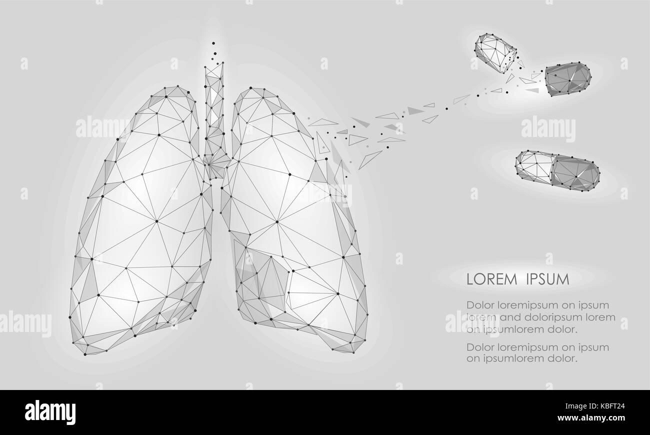 les droits de l'organe interne poumons traitement médecine