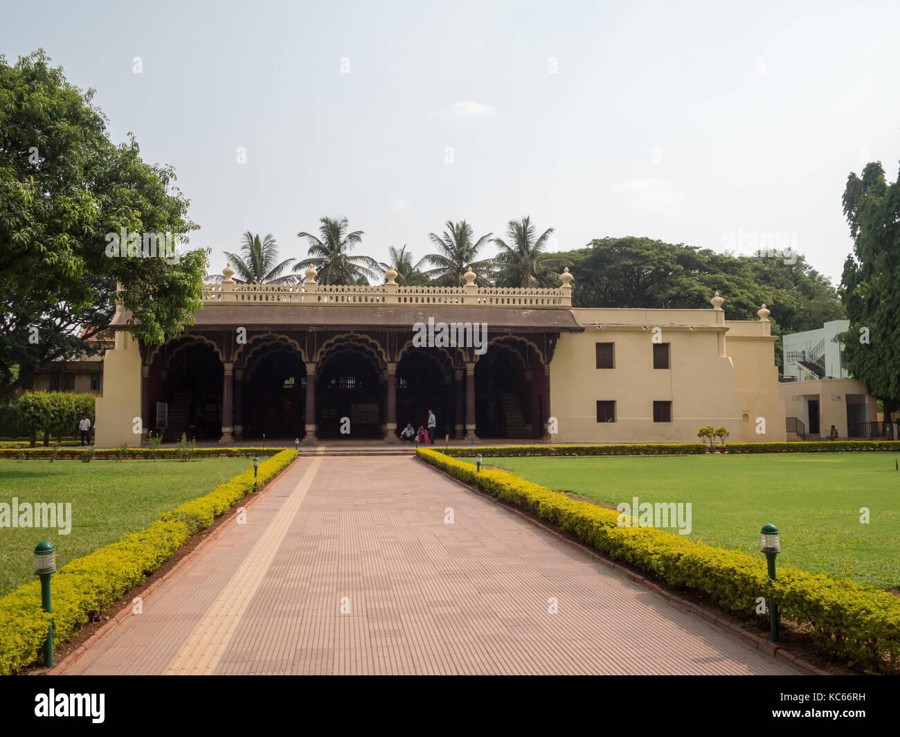Palais d'été de Tipu Sultans, Bangalore Banque D'Images