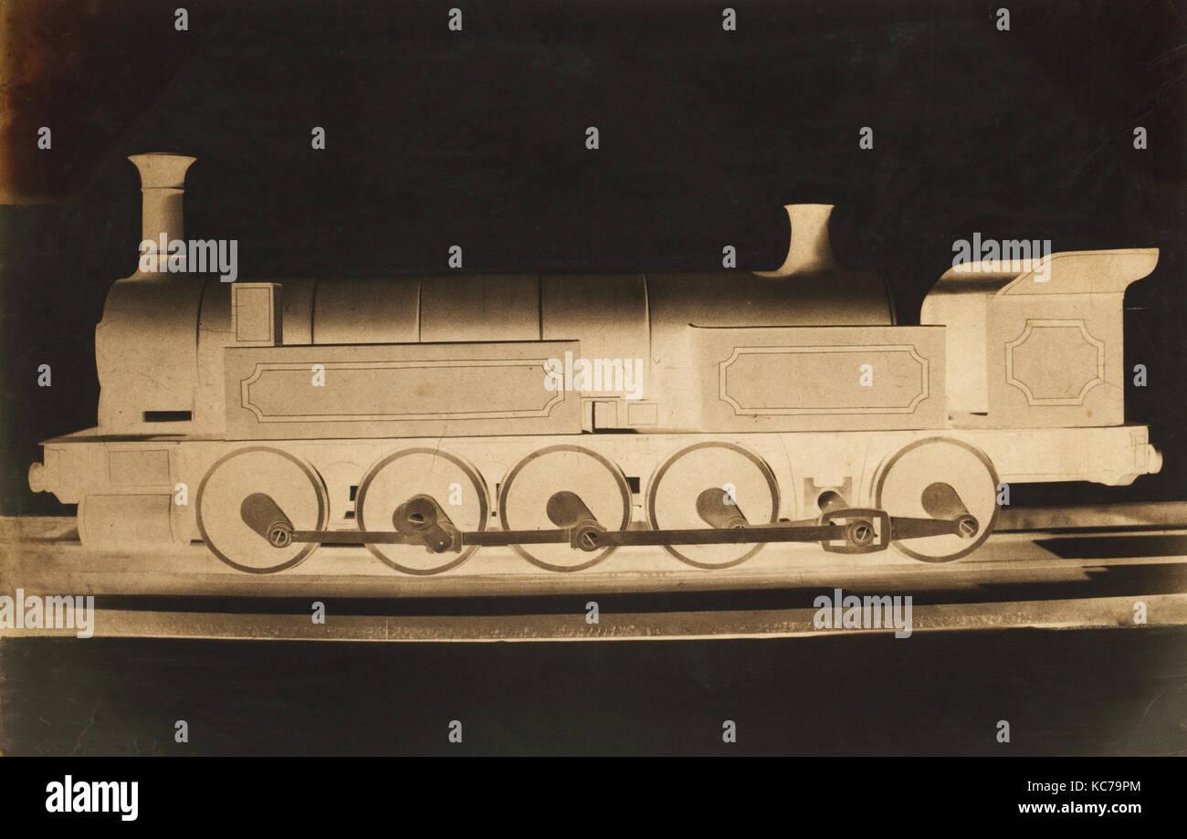 Un modèle de P.L.M. Locomotive, Dominique Roman, ca. 1855 Photo Stock
