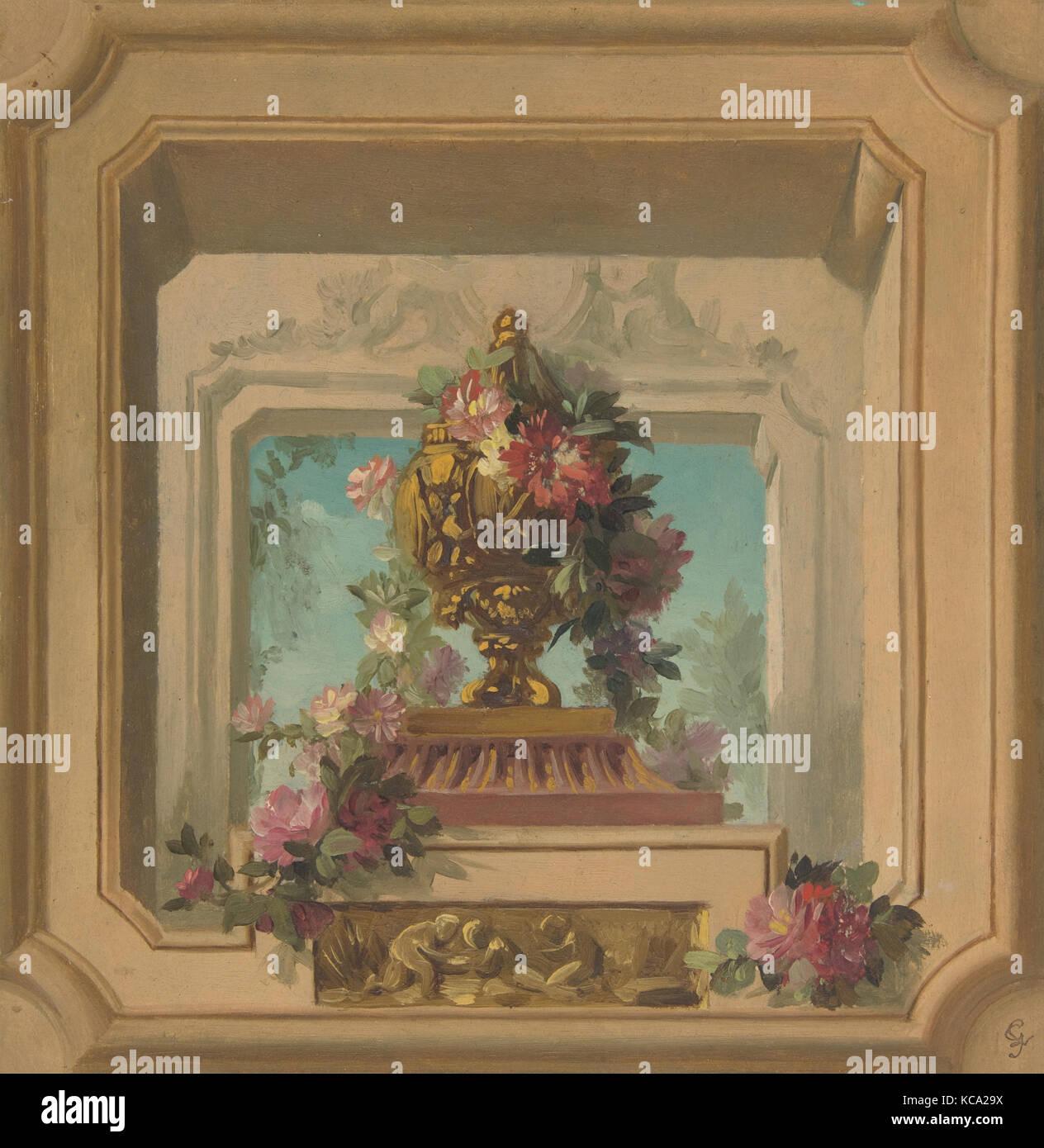 Trompe L Oeil Design Pour Un Plafond Jules Edmond Charles Lachaise