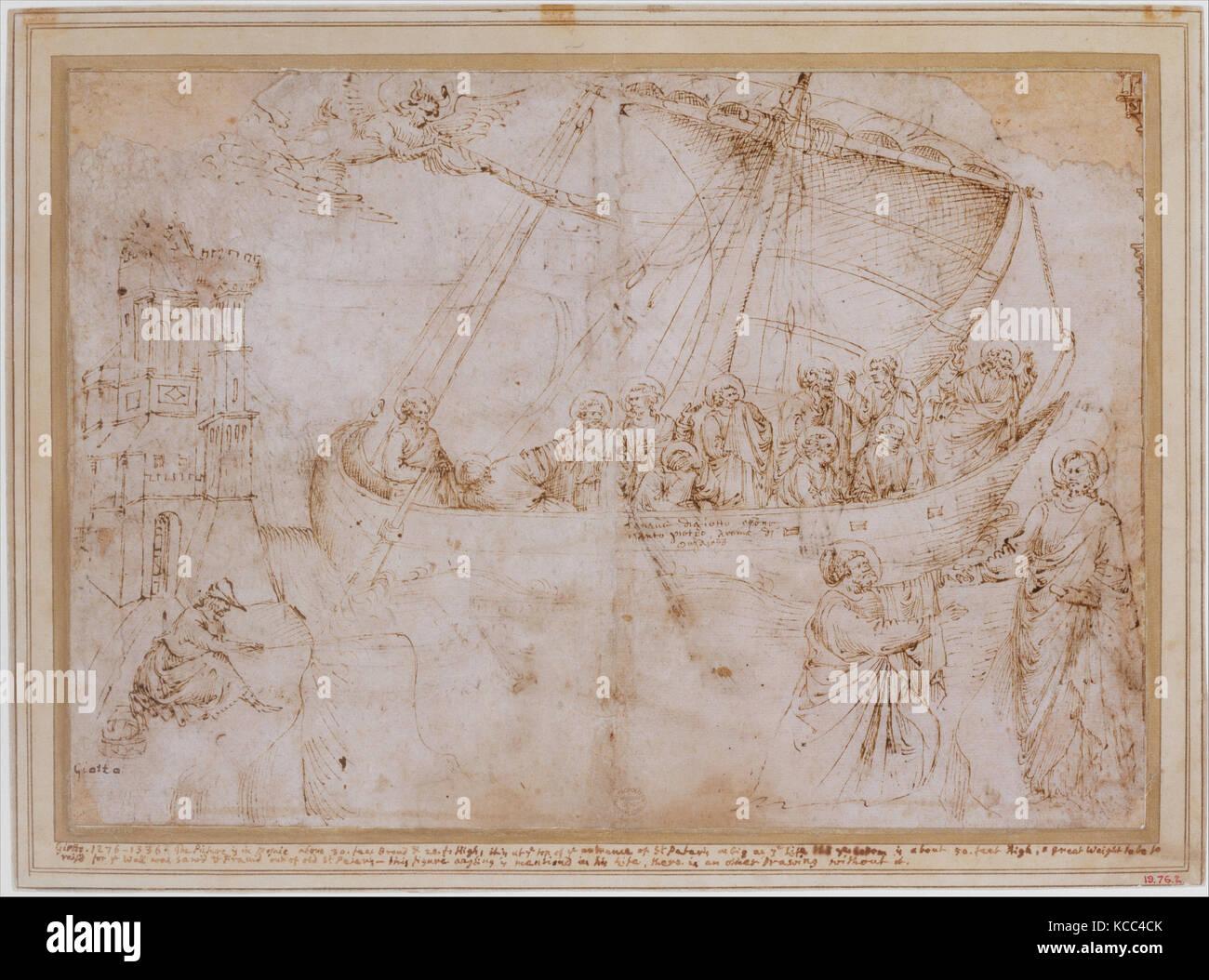 Copie Gratuite De Giotto S Navicella Recto Copie D Adam Dans L