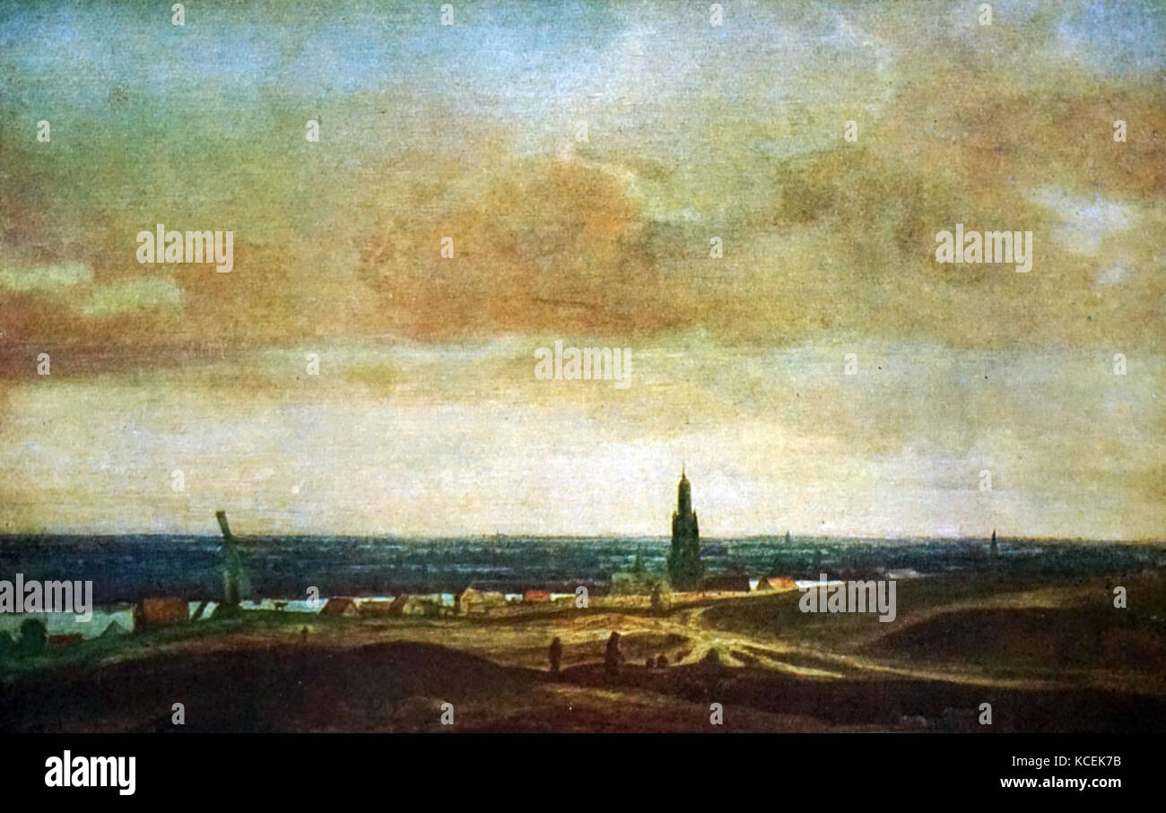 La Peinture Intitulée Vue Damersfoort Par Hercules Seghers 1589