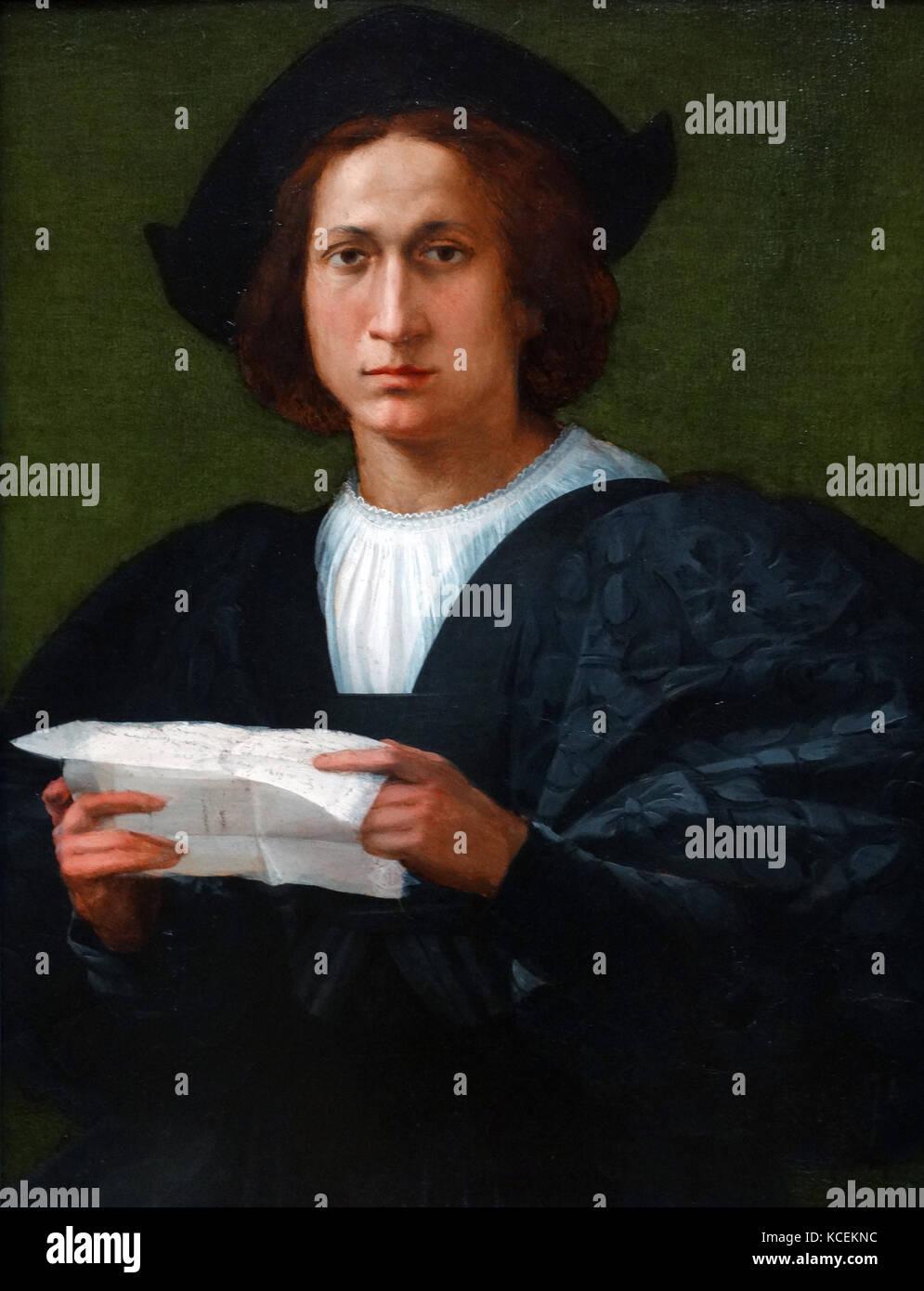 b00ce7e8b134a La peinture intitulée 'portrait d'un jeune homme tenant une lettre'' de