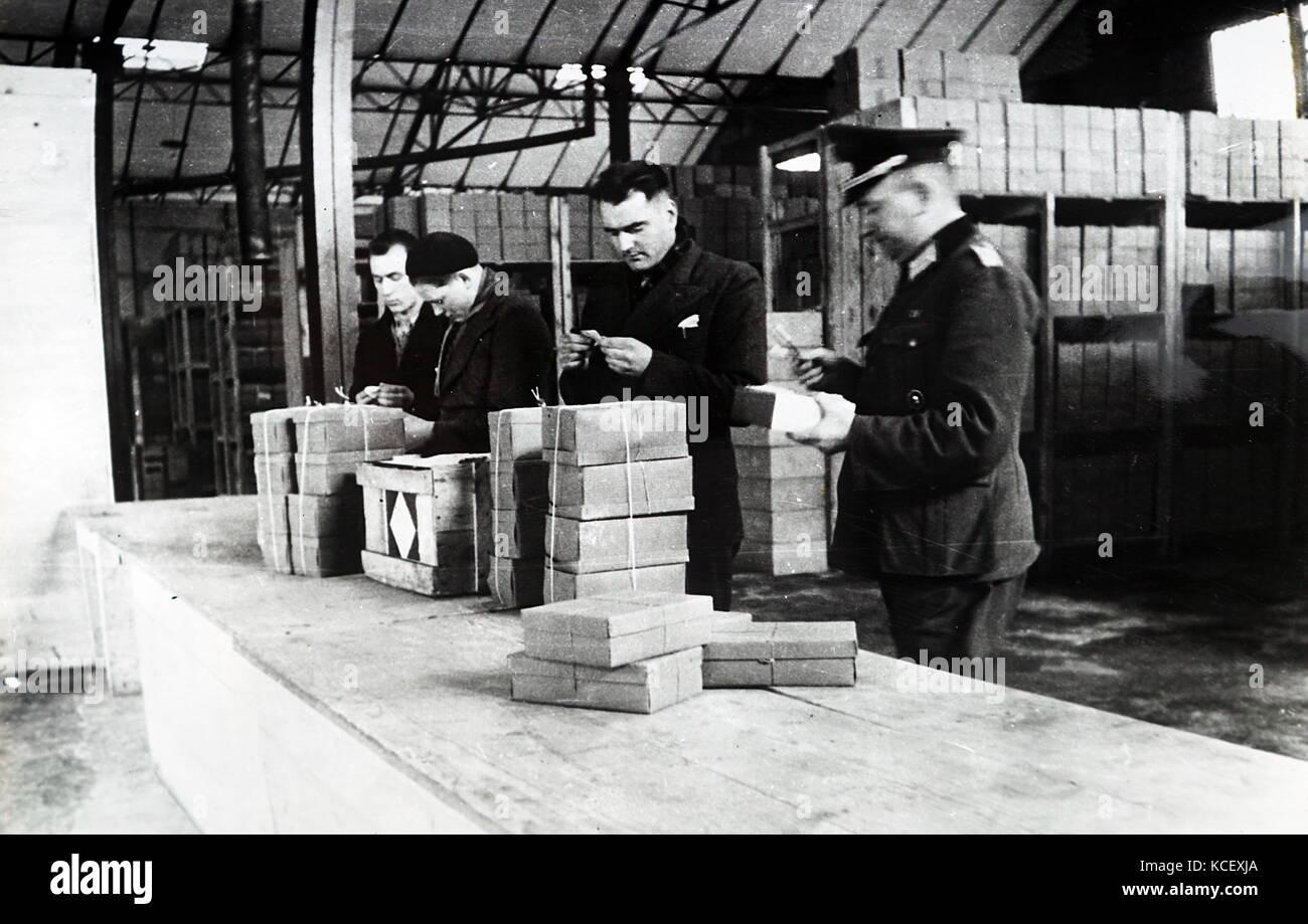 Bureau de tri allemand à paris pendant l occupation allemande de
