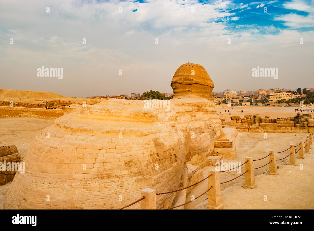 Le sphinx au Caire, Egypte Photo Stock