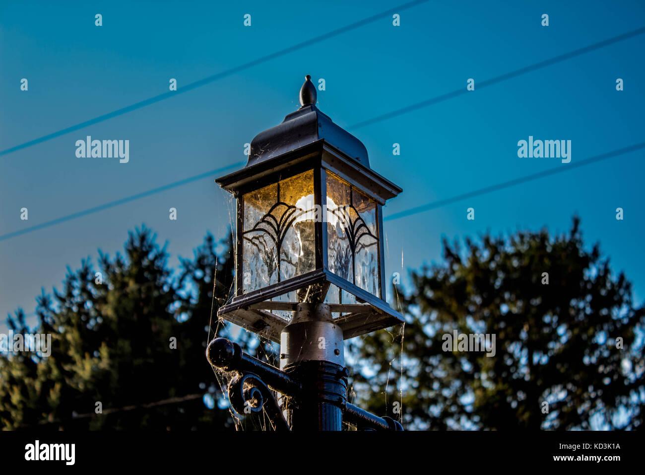 Pôle lumière Photo Stock