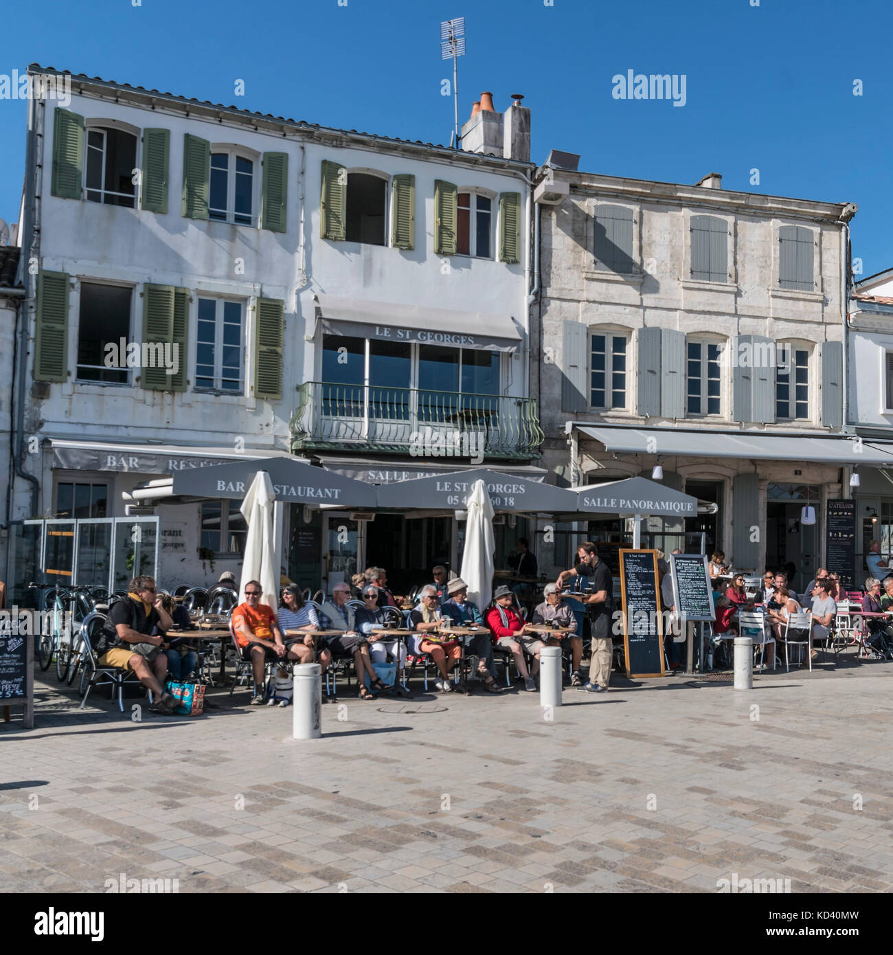 Charente maritime islands photos charente maritime islands images alamy - Restaurants port la nouvelle ...