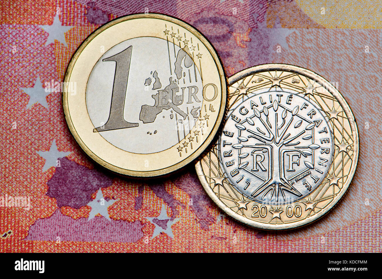 Euro Coin France Photos Euro Coin France Images Alamy