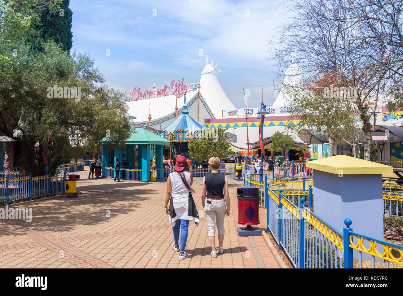 Expositions à Carnival City Casino & Entertainment World, Brakpan, East Rand, le grand Johannesburg, Gauteng, Photo Stock