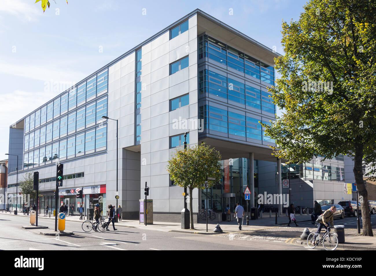 Hackney Museum, de la technologie, Centre d'apprentissage et bibliothèque, Mare Street, Hackney Central, Photo Stock