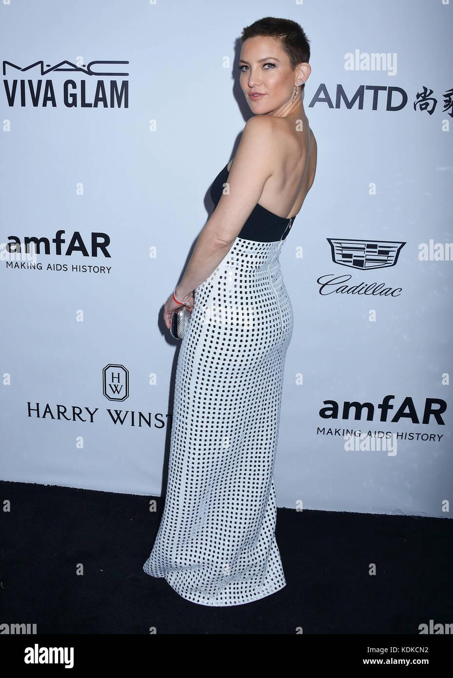 Kate Hudson 063 arrivant à l'amfar los angeles 2017 Gala du green acre estate à Beverly Hills le 13 Photo Stock