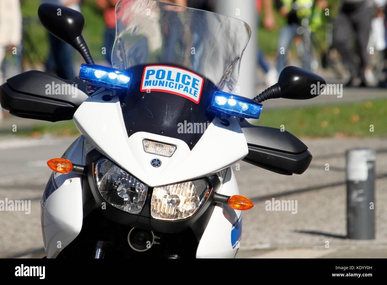 french police motorbike photos french police motorbike images alamy. Black Bedroom Furniture Sets. Home Design Ideas