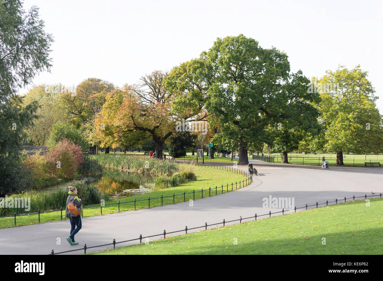Clissold Gardens, Stoke Newington, London Borough of Hackney, Greater London, Angleterre, Royaume-Uni Photo Stock