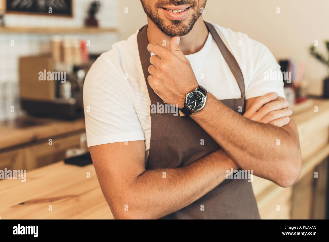 Barista Photo Stock