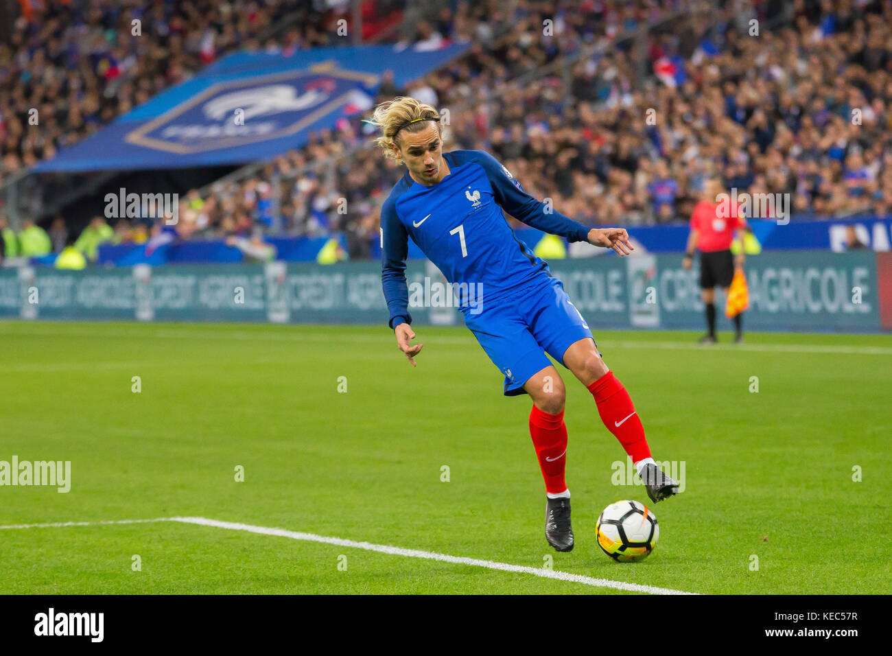 Antoine griezmann france in action photos antoine - France football qualification coupe monde ...