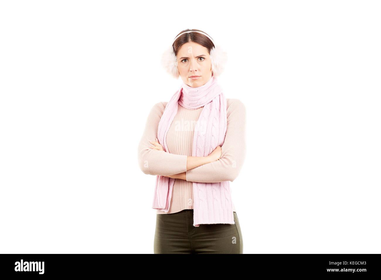 femme hiver Banque D'Images