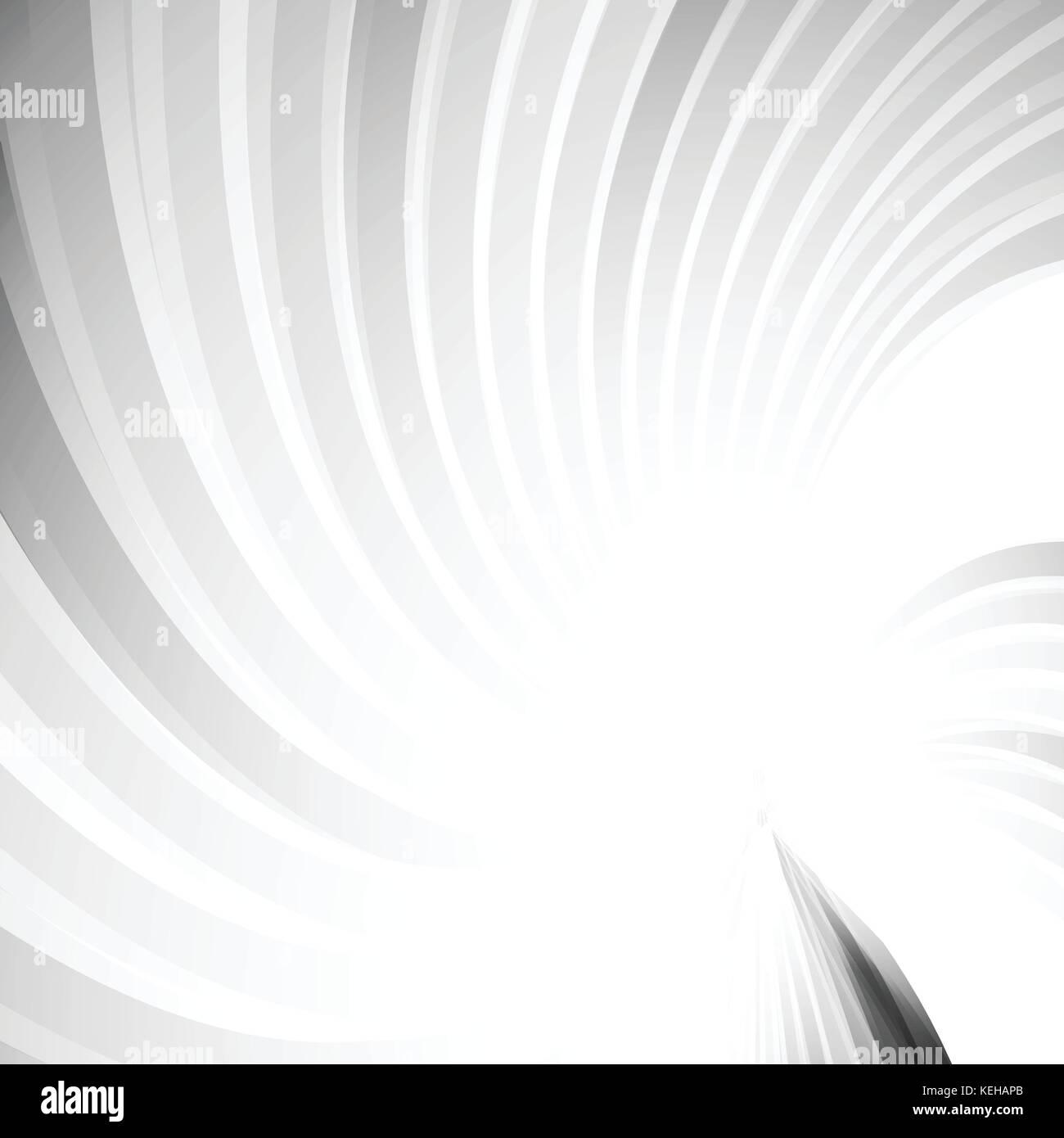 Tourbillon de torsion barre grise abstract background concept Photo Stock
