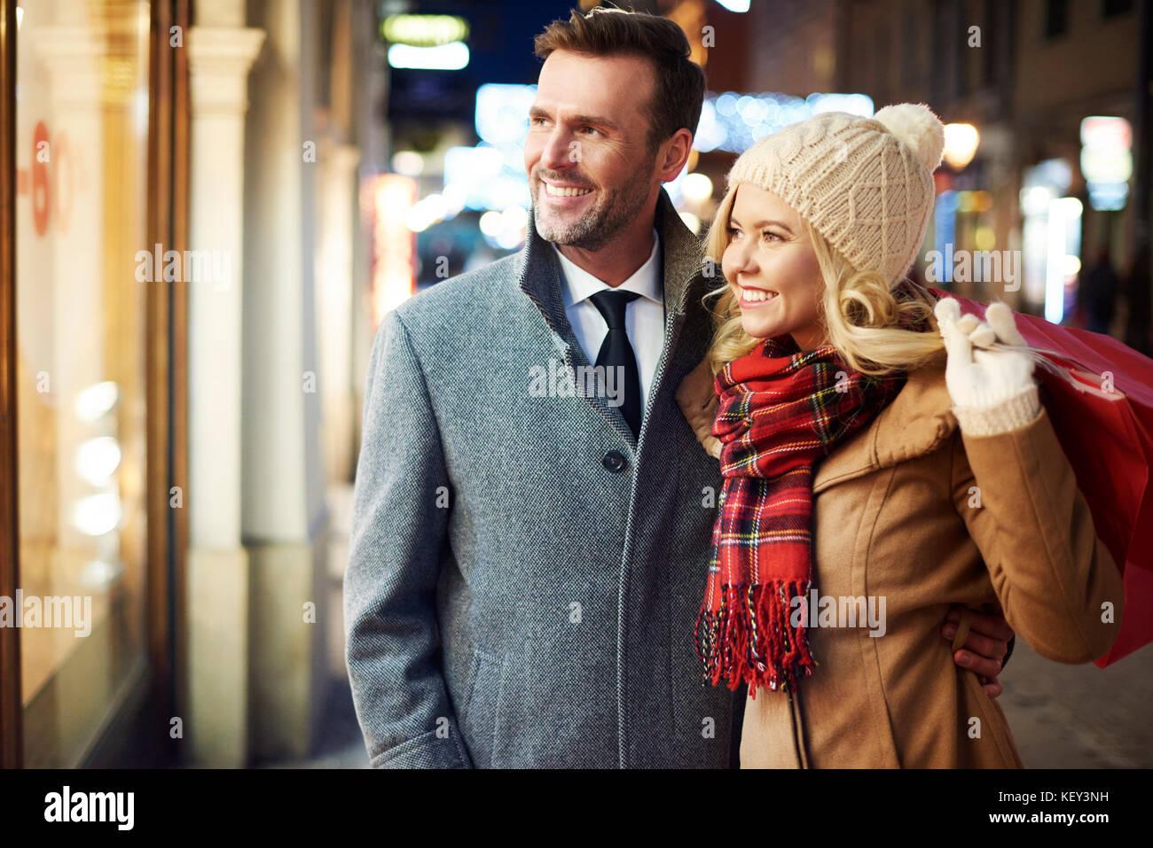 Faire certains couples dépensière Photo Stock