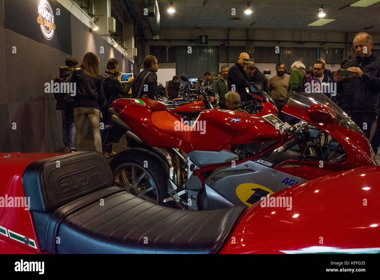 Padova, Italie. 28 oct, 2017. Une vue générale de la voiture et moto international antiques fair le 28 octobre 2017 Banque D'Images