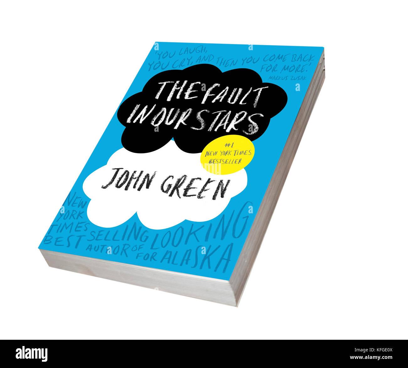 Défaut dans nos étoiles - livre de John Green Photo Stock
