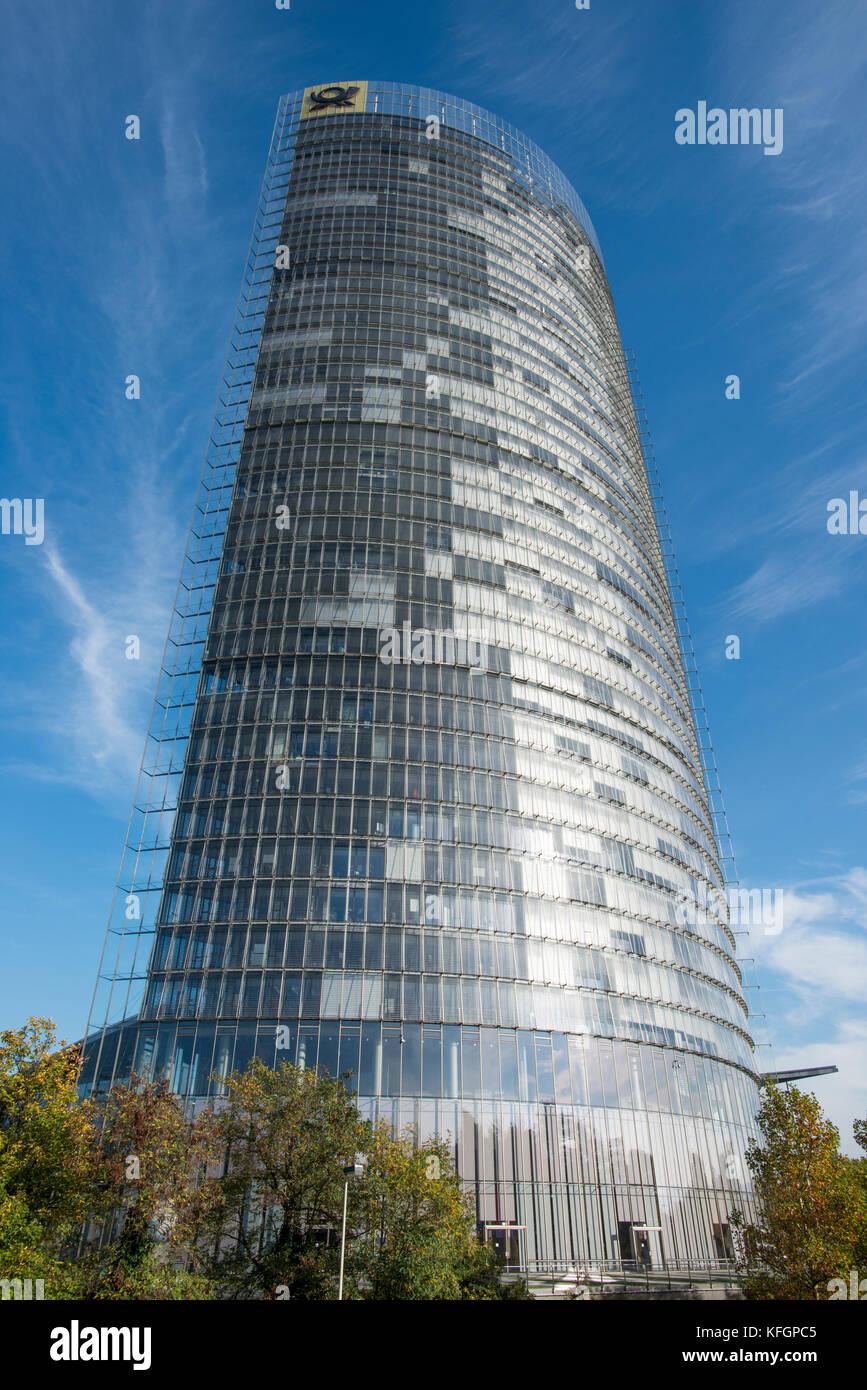 La tour de la poste à Bonn, Rhénanie du Nord-Westphalie, Allemagne Banque D'Images