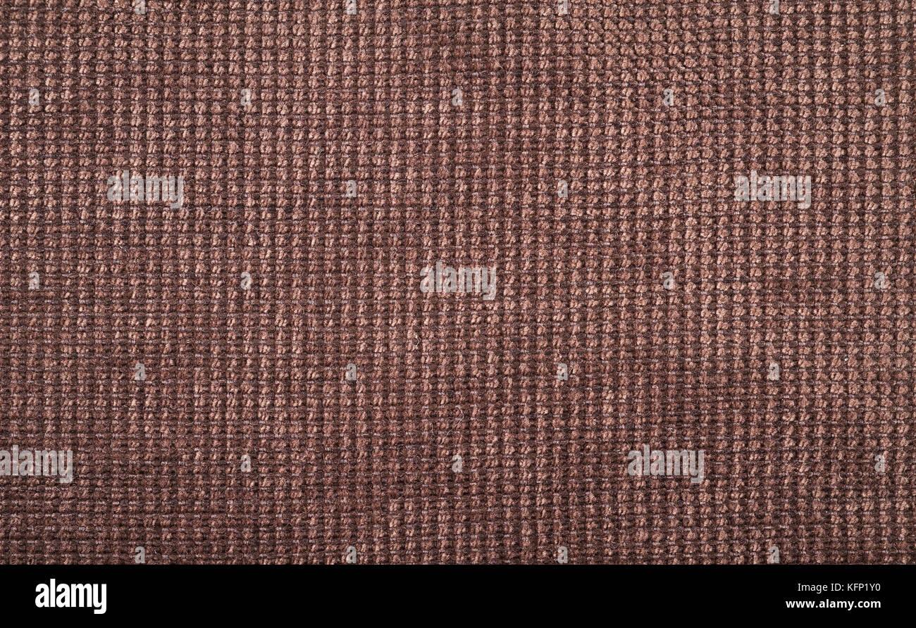 Arrière-plan de tissu de couleur marron Photo Stock