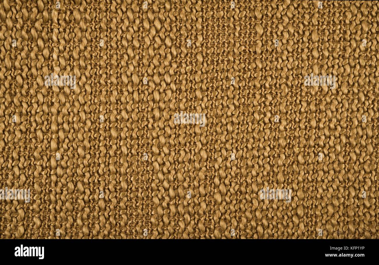 Arrière-plan de tissu de couleur marron Banque D'Images
