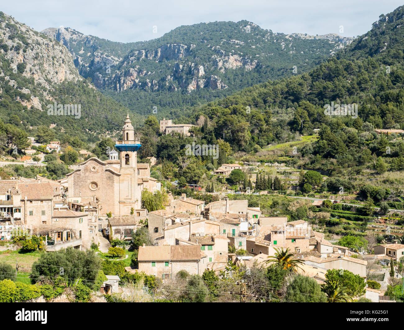 Valdemossa, Majorque, Espagne, îles Baléares, Espagne, Méditerranée, Europe Photo Stock
