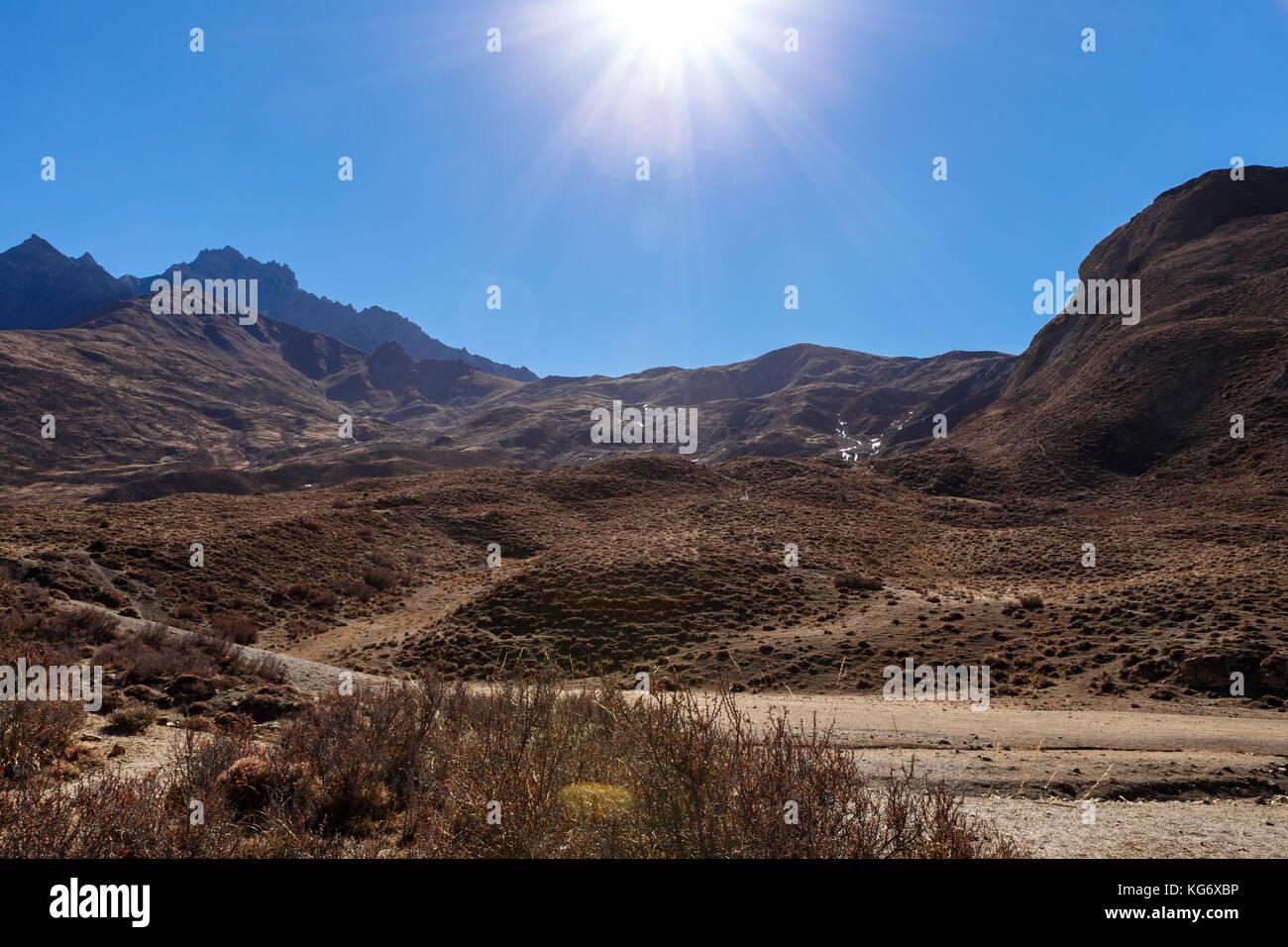 Himalaya, Népal. Photo Stock