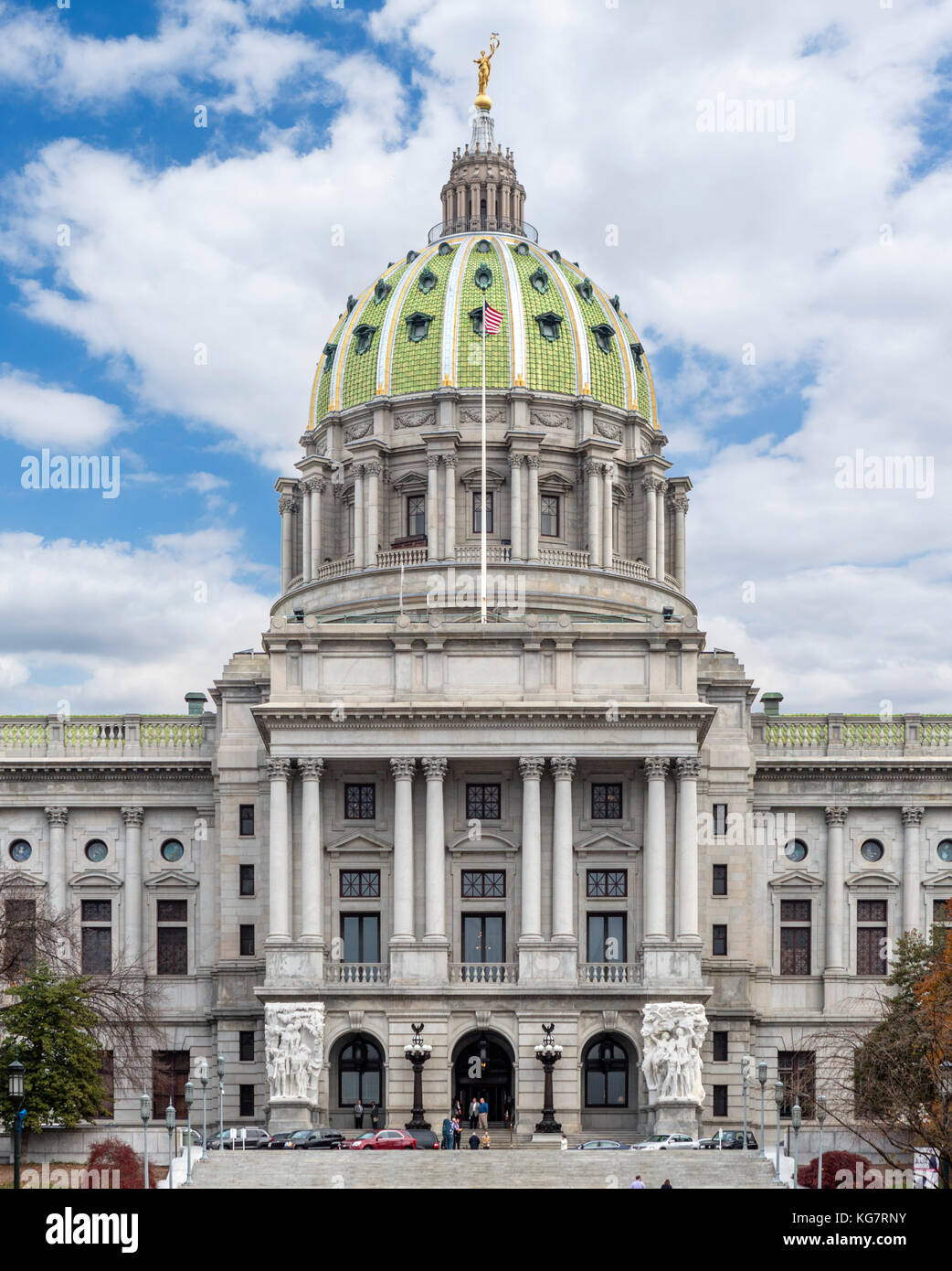 La Pennsylvania State Capitol, Harrisburg, Pennsylvanie, USA Photo Stock