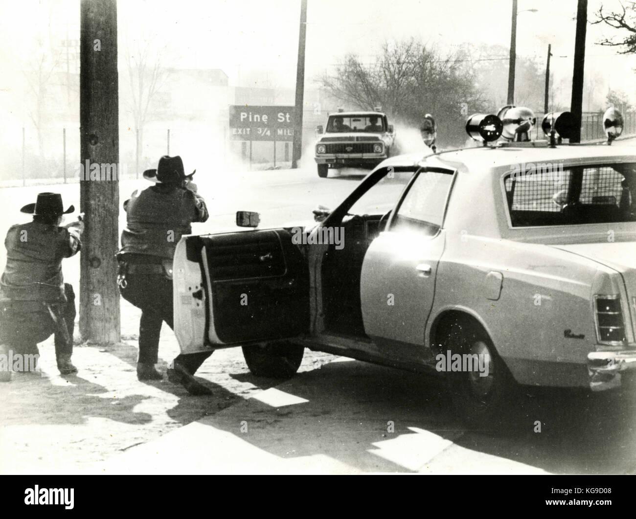 Scène de film non identifiés à partir des années 1980 Photo Stock